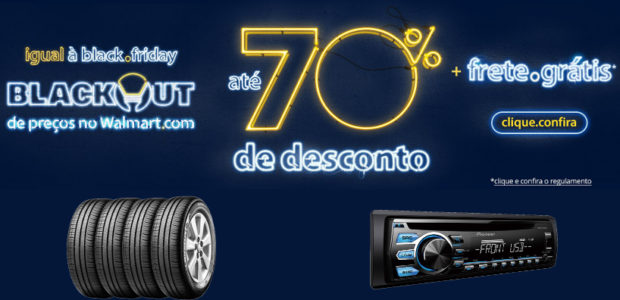 Blackout Walmart Abril 2015 Automotivo