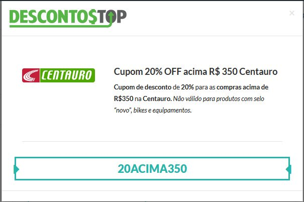 c66b7186b65 Cupom de Desconto Centauro ⇒ Até 70% OFF ⇒ Tênis