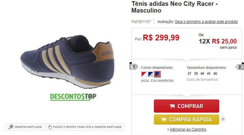 Cupom de Desconto Centauro Tênis Adidas