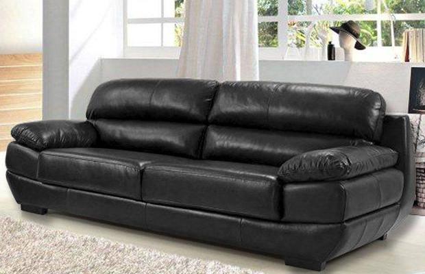 comprar sofá de couro legítimo americanas