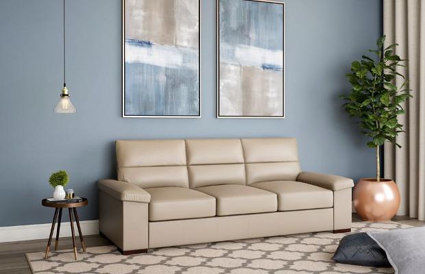 comprar sofá de couro legítimo mobly