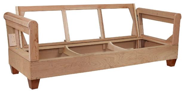 sofá em construção