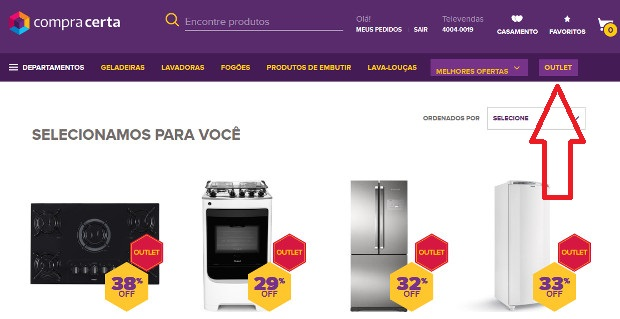 outlet compra certa