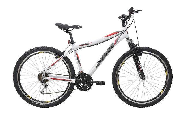 Netshoes Bicicleta Aro 26 Titan 18V Alumínio Com Suspensao
