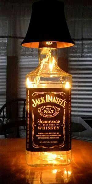 abajour de garrafa
