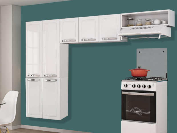 mobly armarios de cozinha aço