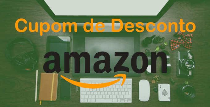 Logo página cupom de desconto Amazon