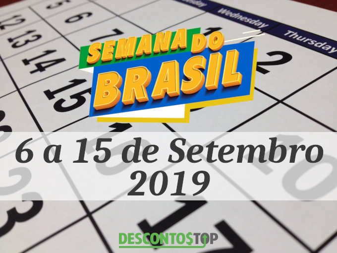 data semana do brasil