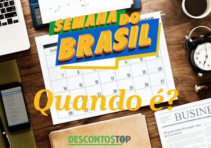 quando é a semana do brasil