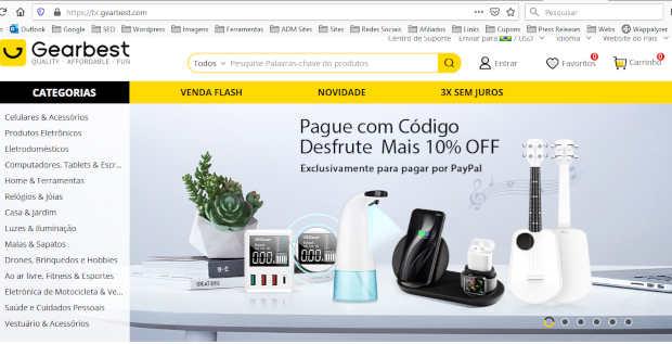 gearbest brasil é confiavel