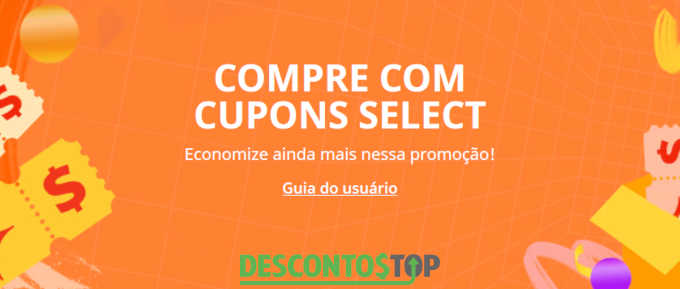 cupom aliexpress select
