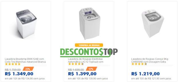 promoção casas bahia máquina de lavar