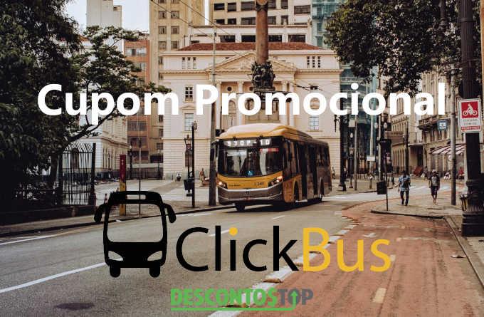 cupom promocional clickbus