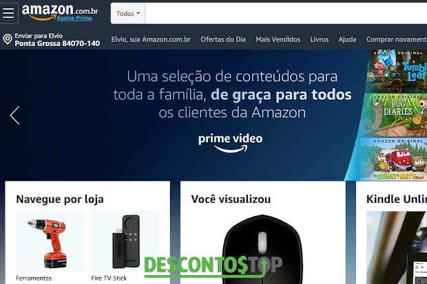 o site amazon brasil é confiavel