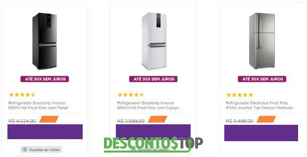 3 modelos de geladeira inverse