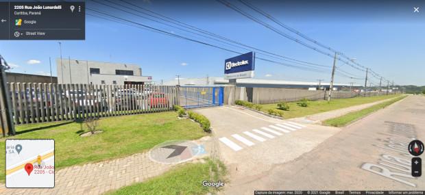 imagem da fachada do endereço da Electrolux em Curitiba